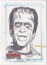 "2005 THE MUNSTERS HAND-DRAWN SKETCH SKETCHAFEX - ""HERMAN"" BY SEAN PENCE"