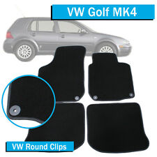 Volkswagen Golf MK4 - (1998-2004) VW - Tailored Car Floor Mats - Round Clips