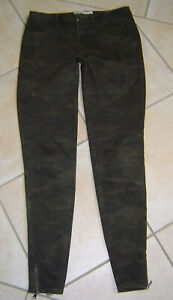 Zara Denim  Jeans Skinny Ankle  camouflage    36  herrrlicher style