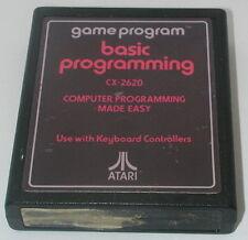 Vintage Video game Atari 2600 Basic Programming Cartridge Tested and Working