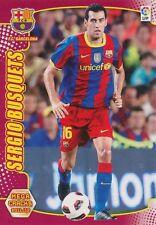 N°045 SERGIO BUSQUETS # FC.BARCELONA CARD PANINI MEGA CRACKS LIGA 2012