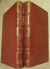 MAZAS LES HOMMES ILLUSTRES DE L'ORIENT 2 VOLUMES 1847 ÉDITION ORIGINALE relié BE