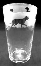 More details for great dane dog frieze boxed 57cl conical 1 pint glass
