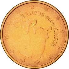 [#463496] Chypre, 5 Euro Cent, 2008, SUP, Copper Plated Steel, KM:80