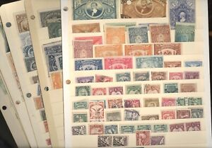 MEXICO, Excellent assortment of REVENUE Stamps in stock pages