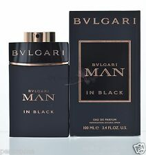 Bvlgari Man in Black by Bvlgari for Men Eau De Parfum 3.4 OZ 100 ML Spray