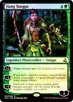 MTG Jiang Yanggu Global Series: Jiang Yanggu & Mu Yanling FOIL MYTHIC Green NM/M
