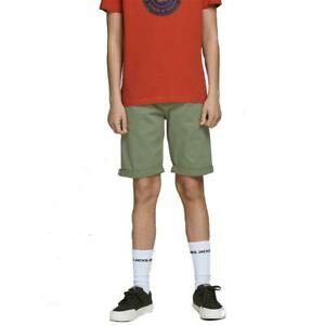 Jack And Jones Boys Denim Shorts Kids Casual Regular Summer Cotton Half Pants