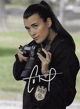 Cote de pablo hand signed autographed photo w COA/hot ncis