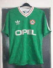 1990-1992 Republic of Ireland Home Shirt Large Adidas Opel