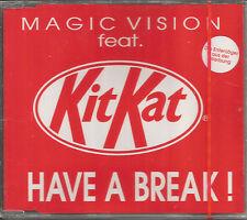 MAGIC VISION w/ KITKAT Have a break w/ 3 RARE MIXES CD single SEALED USA seller