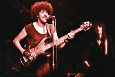 THIN LIZZY PHOTO PHIL LYNOTT 1983 FAREWELL GIG UNRELEASED UNIQUE IMAGE 12 INCHS