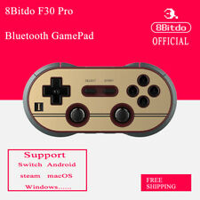 8Bitdo F30PRO Bluetooth Gamepad Controller Support Android Switch MacOS Steam