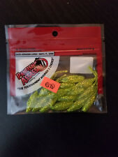 Bass Assassin Panfish Assassin Tiny Shad 1.5in 15ct Chart Silver Glitter **