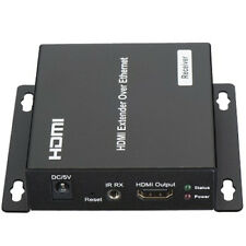 HDMI Extender RX Receiver Over TCP IP via CAT5e/6 RJ45 LAN Network Ethernet New