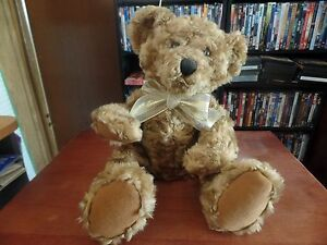 2002 Avon Talking Plush Bear-Talks and Moves #1015
