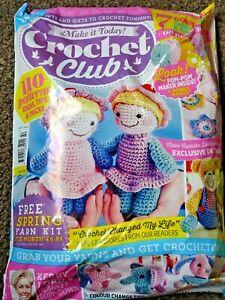 Make It Today Crochet Club Magazine Issue 42 still sealed