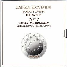 Euro SLOVENIA 2017 Folder Ufficiale 10 monete FDC