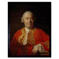 Allan Ramsay David Hume Scottish Historian Philosopher Painting Framed Print