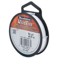 Beadalon WildFire 50yd/45.8m Thermally Bonded Beading Weaving Thread Cord