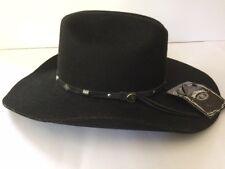 Jack Daniels Men's Daniel's Wool Felt Cowboy Hat - JD03-B new with tag sz small