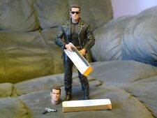 Terminator 2 T2 NECA 25th Anniversary 3D Release T-800 Action Figure LOOSE 100%