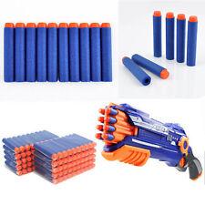 100pcs Kids Refill Toy Gun Bullet Darts Round Head Blasters For NERF N-Strike Q