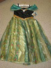 NEW Disney Store Frozen Princess Anna Deluxe Coronation Costume Sz 7/8