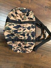 Bape X Porter Camo Duffle Bag Yellow Used