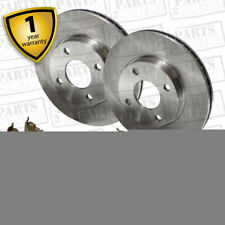 VW Scirocco 1.8 Front Brake Pads Discs 239mm & Rear Shoes 200mm 110 83-07/92
