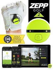 Zepp 2 Golf 3D Swing Sensor 2018 Records Data Instant Feedback Gift