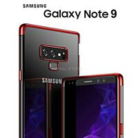 COVER per Samsung Galaxy Note 9 CUSTODIA ORIGINALE ELECTROPLATING Ultra Slim TPU