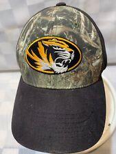 Missouri Mizzou Tigers University Camouflage Adjustable Adult Ball Cap Hat