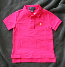 RALPH LAUREN fuchsia POLO (Pink). CHILDREN Size 2T, RRP 45€. BRAND NEW WITH TAGS