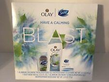 Olay and Secret Body Wash Deodorant Gift Set Calm Birch Water & Lavender