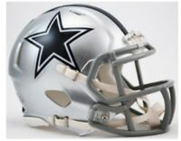 DALLAS COWBOYS NFL Riddell SPEED Mini Football Helmet