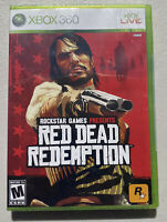 Red Dead Redemption 1st Print (Xbox 360 2010) FACTORY SEALED RARE HTF
