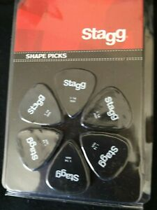 STAGG GUITAR PICS - 1.14MM
