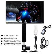 """700mm TV Lift elektrisch höhenverstellbar für Plasmabildschirme 26""""-57"""" 25mm/s"""
