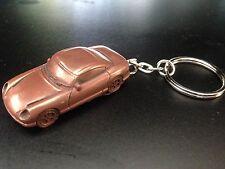 TVR Cerbera Limited Copper Effect 3D split-ring keyring FULL CAR ref277