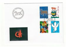 SWITZERLAND HELVETIA 1996 WINNING ENTRIES STAMP COMPETITION SET FIRST DAY COVER
