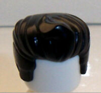 Lego Red Brown Minifig Hair x 1 Female Wig Hanging Braids with Bows Pattern