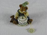 "Vintage Boyd's Bears & Friends Figurine ""Happy Birthday to Me"" Figurine"