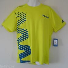 NWT~Reebok XNA CREW PLAY DRY TEE Graphic one Running Gym series Shirt~Mens sz XL