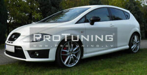 For Seat Leon II 1P Cupra Style Side Skirts Extensions Spoilers Sill covers