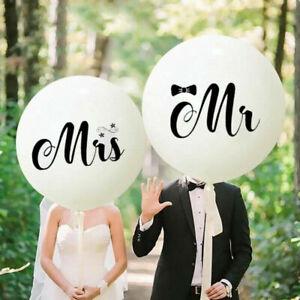 36/18 inch Mr&Mrs LOVE Balloon Marriage Wedding Decoration Air Globos Supplies