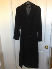 JM Belted Maxi Coat, SZ 14, Black, Was £160, BNWT