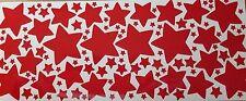 114 Sterne Sticker rot Aufkleber selbstklebend basteln Weihnachten Advent 100