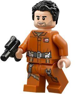 Lego Star Wars Minifigura Poe Dameron Set 75188 - Nuevo, 100% Original