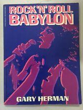 Rock 'n' Roll Babylon by Gary Herman 1982 Celebrity Sex Drugs & Excess